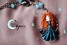 beautiful clay necklaces by Angenia Creation