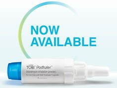 TOBI podhaler. Wonderful innovation for the Cystic Fibrosis community. A breathing treatment that once took 40 minutes now only takes 3 minutes to complete. This has made my life so much easier.