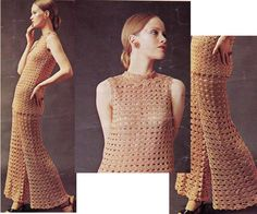 1970s Vintage Crochet Pattern Boho Pants by allthepreciousthings
