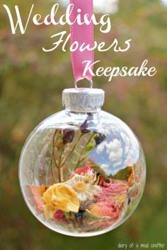 bouquet keepsake....I wish I would have done this
