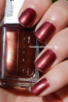 Essie Wrapped In Rubies - just got this. love it!