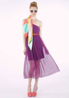 '60s fashion for spring: Alice & Olivia SS12