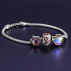 Spring Swarovski BeCharmed Bracelet Pandora Charms, Swarovski, Charmed, Spring, Bracelets, Jewelry, Ideas, Jewlery, Jewerly