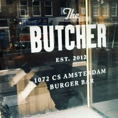 The Butcher i Amsterdam Burger Bar, Burgers, Burger Places, I Kid You Not, I Amsterdam, Places In Europe, Holland, London, Hamburgers