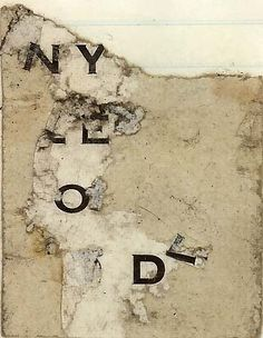 dailyartjournal: ode to ny by Presley* on Flickr.