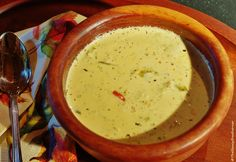 Cream of Brussels Sprout Soup (Meatless Monday) | The Saucy Southerner