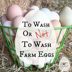 As Americans, we are one of the only cultures that washes their eggs.  And actually, it is illegal in some countries to do so.  However, on the contrary, it is illegal for commercial egg farmers in America NOT to wash their eggs. They are required to wash and sanitize them with a chemical solution. So why the polar opposite in food standards?