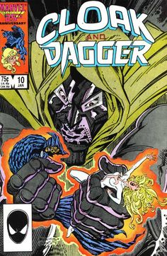 Cloak and Dagger Vol. 2 # 10 by Bret Blevins & Terry Austin