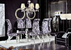 expensive dining room furniture | fancy luxury formal dining room