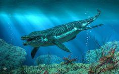 Кронозавр (лат. Kronosaurus) — гигантский плиозавр раннемеловой эпохи. Один из самых известных широкой публике и один из самых крупных плиозавров.