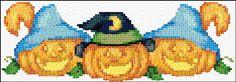Cross Stitch   Pumpkins xstitch Chart   Design