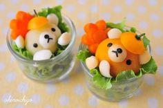 Bear Salad  http://www.pinterestpatron.com/2012/05/pinterest-trends-0529/
