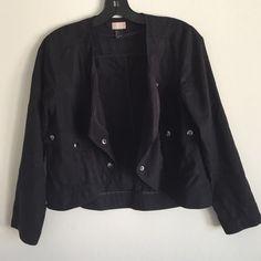 H&M Drape Front Moto Jacket Drape front Moto jacket H&M Jackets & Coats