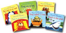 The best for preschoolers learning to read.  From Usborne & Kane Miller Books.