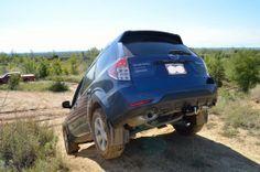 Hidden No-Drill EcoHitch for Subaru Forrester.