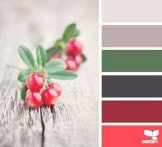 Kerst kleurinspiratie ♥ Woontrendz
