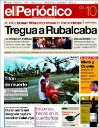 El Periódico,la Vanguardia,el Punt Avui etc