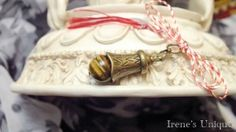 ✿ Pandantiv Talisman Ochi de Tigru 15,00 RON Decorative Bells, Unique, Blog, Handmade, Home Decor, Hand Made, Decoration Home, Room Decor, Blogging