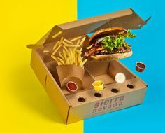 Sierra Nevada Hamburger - Delivery on Packaging of the World - Creative Package Design Gallery