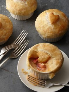 Lobster Pot Pies with Heart by Hancock Gourmet on Gilt.com