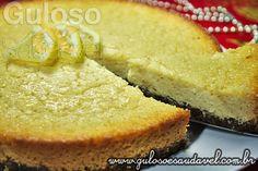Olha só esta receita maravilhosa de Cheesecake de Ricota com Morangos, a base é cereal integral fibras, super fácil e deliciosa!    #Receitas aqui: http://www.gulosoesaudavel.com.br/2012/12/14/cheesecake-ricota-morango/