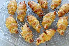 Receita passo a passo: Mini croissants de nutella!