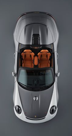 Industrial Design Trends and Inspiration - leManoosh Porsche 911 Speedster, Porsche Cars, Porsche 356, Retro Cars, Vintage Cars, Car Top View, Vintage Porsche, Mc Laren, Automotive Design