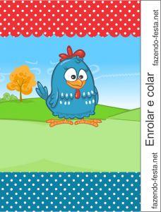 kit festa galinha pintadinha bisnaga brigadeiro pronto para editar com o nome do seu filho e imprimir:http://fazendo-festa.net/kit-festa-infantil-gratuitos/kit-galinha-pintadinha/    Muitooo bom!