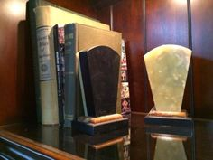 Marble Bookends  $75  Rubbish Designer Vintage Finds Dealer #3501  Lucas Street Antique Mall 2023 Lucas Dr. Dallas, TX 75219  Like us on Facebook: https://www.facebook.com/pages/Rubbish-Des