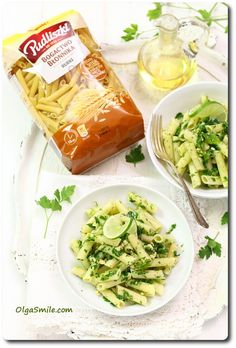 Pasta with parsley sauce recipes - Pasta with parsley