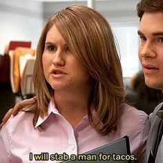 When you're deciding what to get for lunch. | 15 Times Workaholics Summed Up How Hard It Is To Job