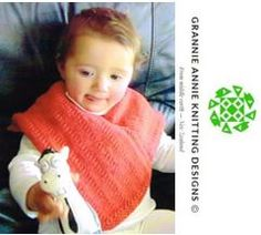Baby's Poncho knitting pattern