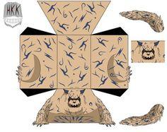 Shukaku by hollowkingking on DeviantArt Origami Naruto, Figurine Anime, Boxing Hand Wraps, Susanoo Naruto, Anime Crafts, Bullet Journal School, Cosplay Diy, Paper Toys, Otaku Anime