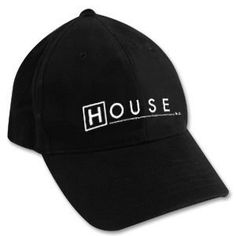 a8ce0fa1aafb46 House, M.D. Logo Black Cap Hat House M.D.. $17.95. Adjustable. Officially  Licensed