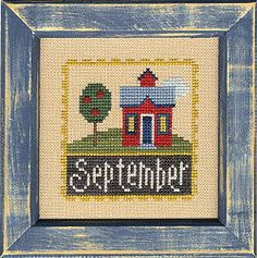 September Stamps Flip-It model from Lizzie Kate