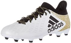promo code 52564 256e2 Adidas Performance pour homme X FG Chaussures de Soccer - blanc -  Ftwwht Black Goldmt, - Chaussures adidas ( Partner-Link)