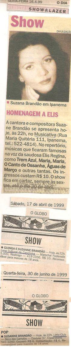 1999 - O Dia / O GLOBO