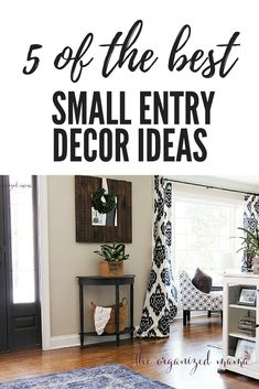 Five Of The Best Small Entryway Decor Ideas. Practical ways to spice up your spa. Five Of The Best Small Entryway Decor Ideas. Practical ways to spice up your space and add value to Small Entry Decor, Entryway Decor, Entryway Ideas, Hallway Ideas, Home Decor Shops, Diy Home Decor, Room Decor, Deco Led, Small Entryways