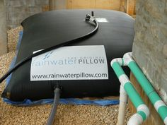 The Original Rainwater Pillow is a rainwater harvesting system ideal for irrigation, toilet flushing, stormwater management and fire supression.