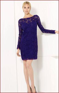 Little Lace Dresses | Bluemarine lace dress, $1750 at Nordstrom