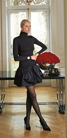 I wore this look several years ago!  I loved it then and love it  now!  Ralph Lauren Black Label