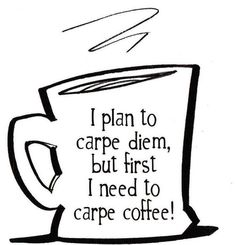 Carpe some #FairTrade coffee this morning, we definitely will be.