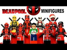 My LEGO Deadpool™ Minifigure Marvel Super Heroes Collection - YouTube