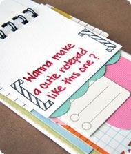 Journaling notes to go self-paced class taught by @tamimorrison
