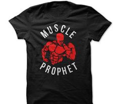 Black Muscle Prophet Fitness T Shirt For Men gift tee shirts and hoodies for men / women. Tags: fitness motivational t shirts, motivational gym t shirts uk, fitness motivational quotes t shirts, workout t shirts sayings, workout t shirts mens, plus size workout t shirts, #workout #fitness #tshirts #hoodies #motivational #gym #sunfrog #amazon . BUY HERE: http://tshirts.salalo.com/search/label/Fitness%20T%20Shirts