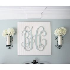 Diy monogram wall art the hamby home can do pinners pinterest my diy beadboard monogram wall art is one of my most popular projects and i really solutioingenieria Image collections