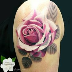 #botanicaltattoo #flowertattoo #floraltattoo #naturetattoo #rosetattoo #pinkrosetattoo #photorealism #hyperrealism #photorealistic #photorealistictattoo #photorealisticrose @ryan_evans #ryanevans #ryanevanstattoo #londontattooartist