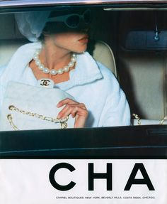 Vintage 90´s Chanel Ad