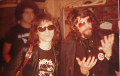 suicidewatch: Tommy Ramone with Phil Spector, 1977