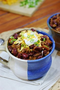 A Hearty Bowl of Chili Recipe on Yummly